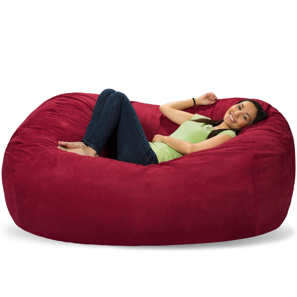 - 6 Foot Bean Bag Lounger - 6 Foot Bean Bag Couch