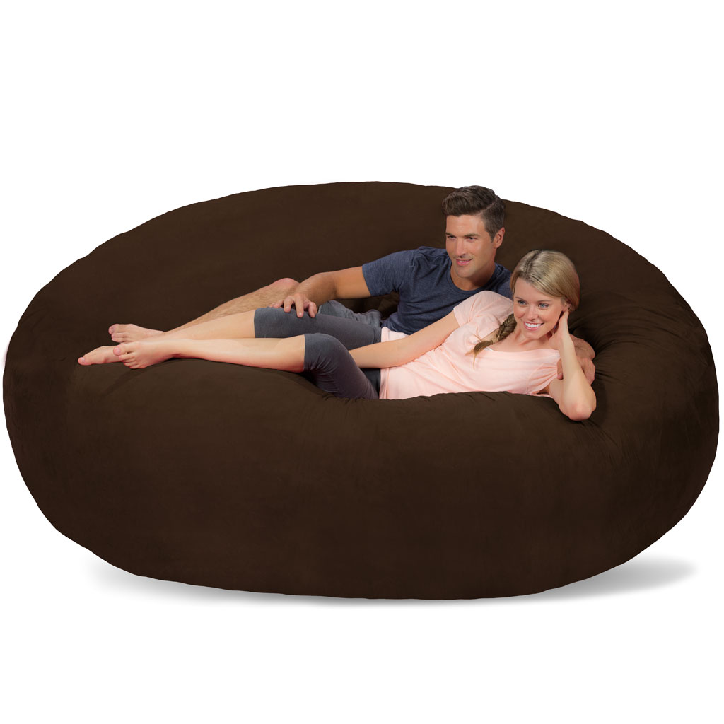 giant bean bag huge bean bag chair extra large bean bag. Black Bedroom Furniture Sets. Home Design Ideas